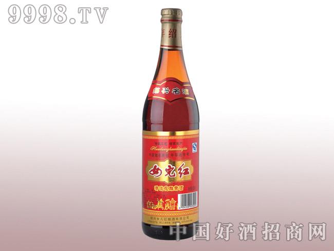 600ml清淡花雕黄酒