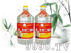 50度北京二锅头4.5L1x4桶