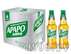 青果啤酒瓶装460ml