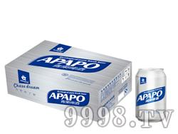 青果啤酒易拉罐330ml