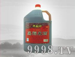 老绍坊黑糯米酒13度5L