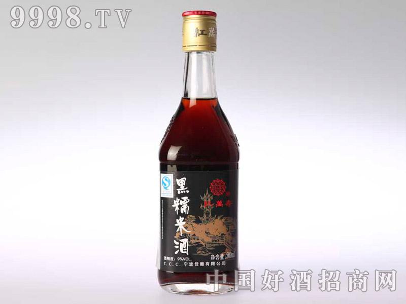 500ml黑糯米酒