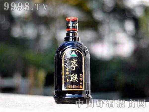500ml亭联原酿黑糯米酒