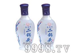 永定河二锅头磨砂瓶52°248ml×12瓶-北京大红门集团酒业有限公司
