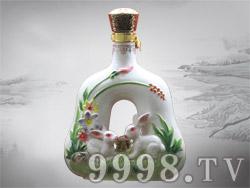 国门酱酒-十二生肖-兔