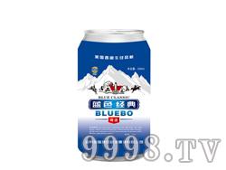 蓝带蓝渤蓝色经典易拉罐 330ml