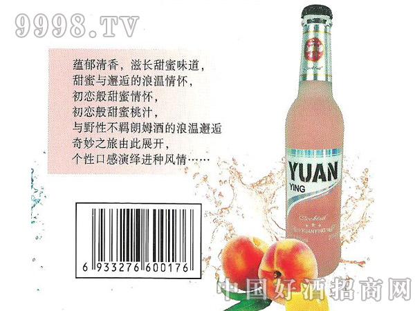 源鹰水蜜桃鸡尾酒(预调酒)