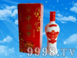 洋河中国梦红宝石柔和