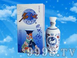 名池蓝花瓷