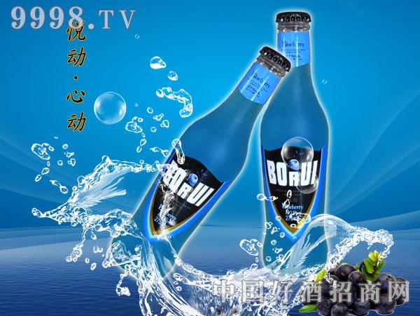 博锐朗姆预调酒-营养蓝莓味