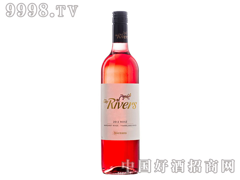河流-桃红