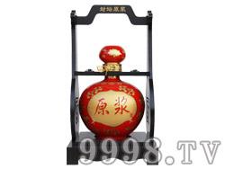 五谷御酒・五斤原浆酒红色