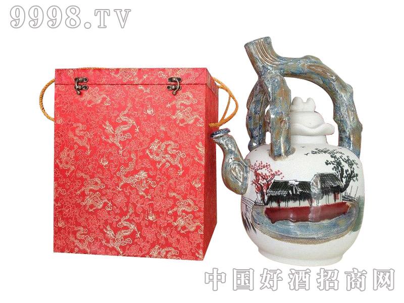五谷御酒·十斤提梁壶礼盒装