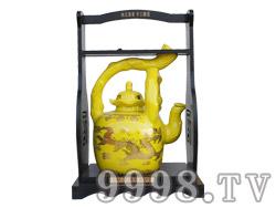 五谷御酒・十斤提梁壶黄色