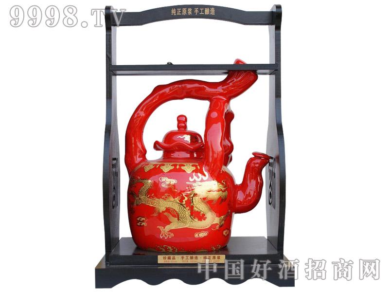 五谷御酒·十斤提梁壶红色