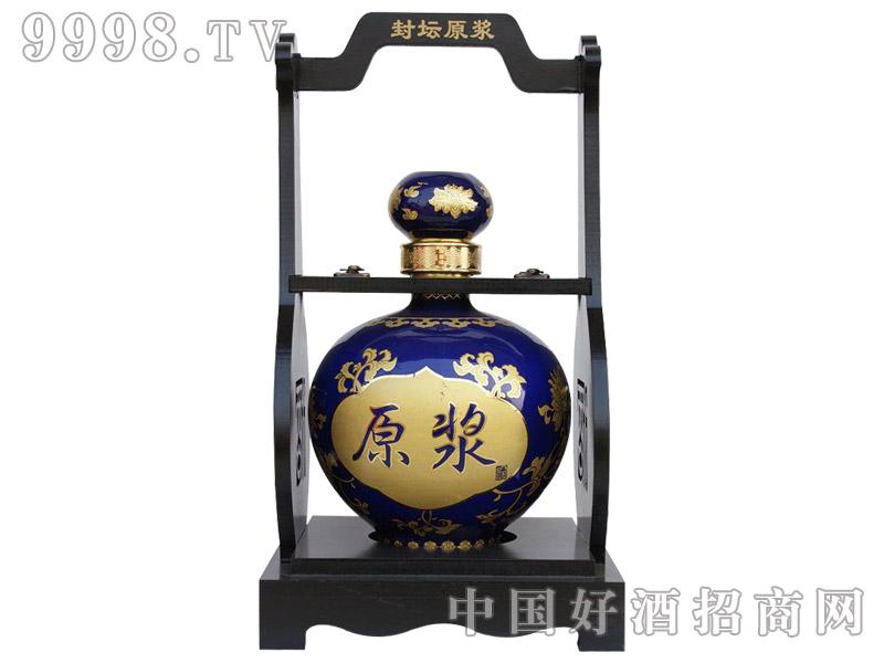 五谷御酒·五斤原浆酒蓝色