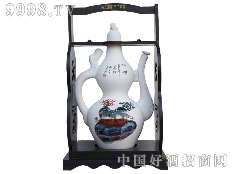 五谷御酒·十斤磨砂酒壶