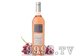 夏日桃红葡萄酒