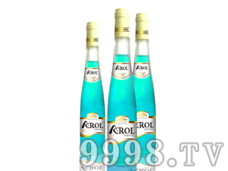 蓝玫瑰味威士忌鸡尾酒(预调酒)375ml