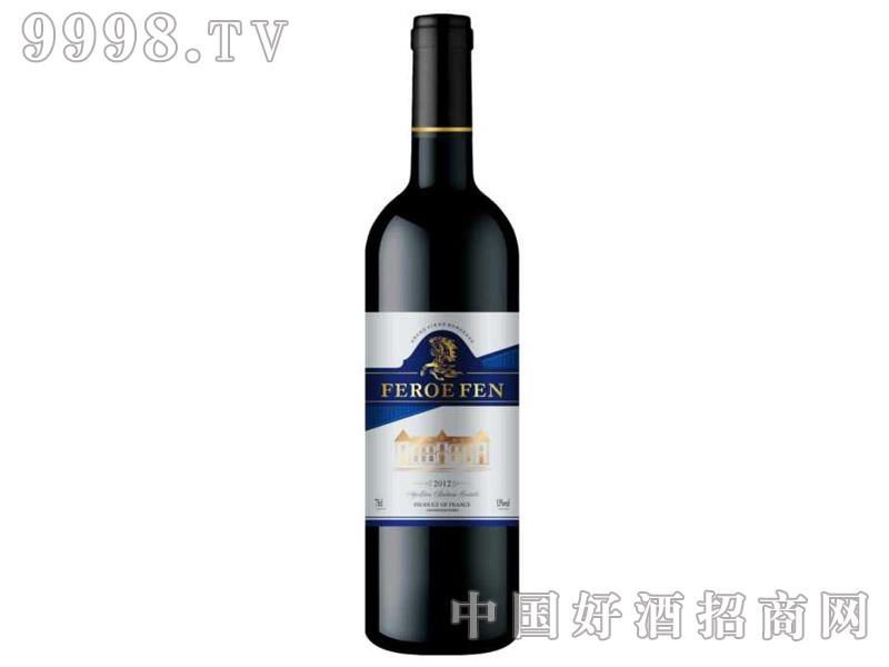2012法国法罗芬波尔多红葡萄酒(红纸盒)