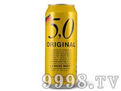5.0小麦啤酒500ML