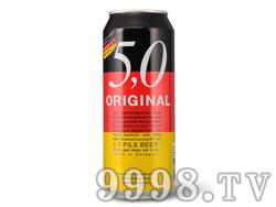 5.0皮尔森啤酒500ML