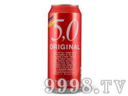 5.0窖藏啤酒500ML