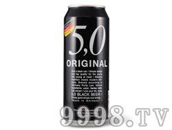 5.0黑啤酒500ML