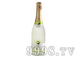 法国原瓶进口kiss荔枝起泡酒低酒精果味节日用酒