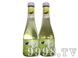 法国原瓶进口kiss荔枝起泡酒低酒精果味节日用酒小瓶250mls