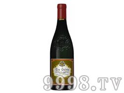 法国原瓶进口罗纳河谷龙秋湖产区莱歌乐丝干红葡萄酒AIC1