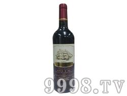 法国原瓶进口小龙帆干红葡萄酒婚庆用酒