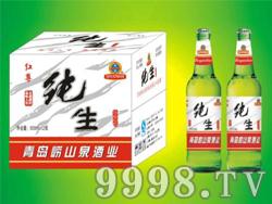 红尊绿瓶啤酒500ml-1x12