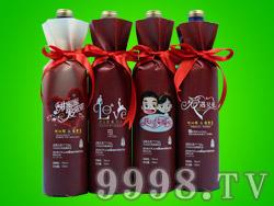 果溢宝品牌7度蓝莓王酒(婚宴酒)