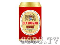 克莱德曼啤酒330ml(红色)