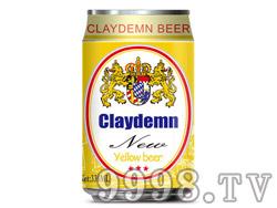 克莱德曼黄啤酒330ml