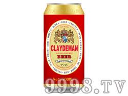 克莱德曼啤酒500ml(红色)