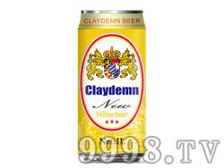 克莱德曼黄啤酒1L