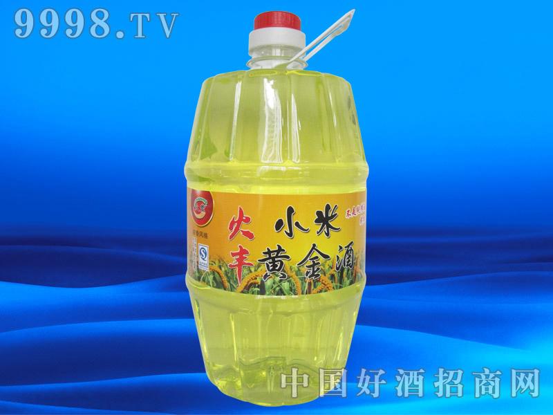 火丰酒小米黄金酒4L