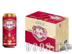 统治者1805啤酒酒精度3.6 麦芽度9.7 500ml