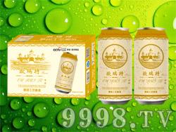 欧瑞特啤酒500ml×24听金罐