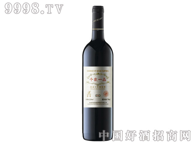 莫高千欢一品干红葡萄酒