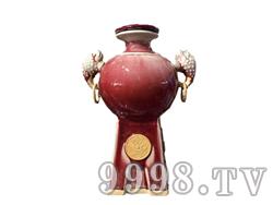 青花瓷工艺品系列-8斤钧瓷(鼎)