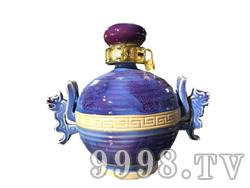 青花瓷工艺品系列-8斤钧瓷(蓝)