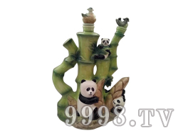青花瓷工艺品系列-8斤熊猫