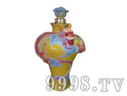 青花瓷工艺品系列-10斤珐琅龙