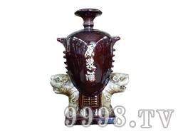 青花瓷工艺品系列-10斤虎头原浆