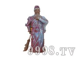 青花瓷工艺品系列-10斤钧瓷关公