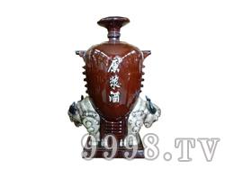青花瓷工艺品系列-10斤牛头原浆