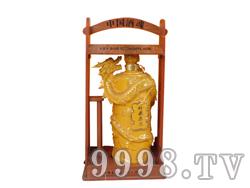 青花瓷工艺品系列-10斤柱龙